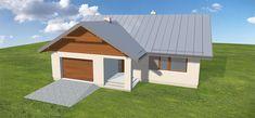 Projekt domu Niko 85,78 m2 - koszt budowy - EXTRADOM Outdoor Structures