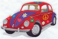 Machine Embroidery Designs at Embroidery Library! - Cars