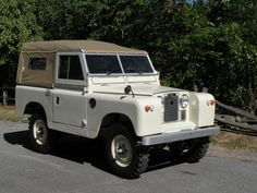 1962 Land Rover 2A 88 Maintenance of old vehicles: the material for new cogs/casters/gears could be cast polyamide which I (Cast polyamide) can produce