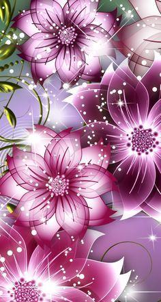 57 Ideas Wallpaper Flores Moradas For 2019 Beautiful Flowers Wallpapers, Pretty Wallpapers, Love Wallpaper, Wallpaper Backgrounds, Cellphone Wallpaper, Iphone Wallpaper, Fractal Art, Purple Flowers, Flower Art