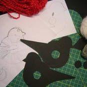 Tina& handicraft : how to make a pom - pom birds Winter Art Projects, How To Make A Pom Pom, Pom Pom Crafts, Felt Birds, Ribbon Design, Mermaid Blanket, Crochet Patterns For Beginners, Easter Crafts For Kids, Preschool Art