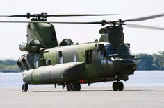 5th Royal Canadian Air Force CH-147F « Chinook » . Modified & updated version of Boeing CH-47 Chinook, for RCAF, with more powerful,& economic engines,& larger fuel tanks,for longer range,needed in northern latitudes. More sofisticated avionics systems also installed. Probably most modern & advanced Chinook version flying.