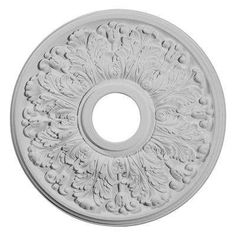 16-1/2 in. O.D. x 3-5/8 in. I.D. x 1-1/8 in. P Apollo Ceiling Medallion