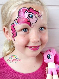 My little pony face paint                                                                                                                                                                                 More