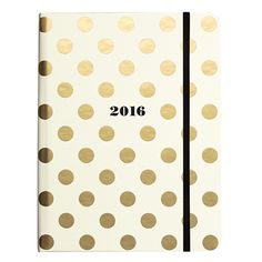 this darling 17-month agenda features include a hardbound cover, elastic band closure, interior golden metallic spiral binding, interior pocket, mylar-covered tabs, 2015-2016 yearly views, a celebrations section, a notes section, and monthly and weekly views for the months of august 2015 through to december 2016.