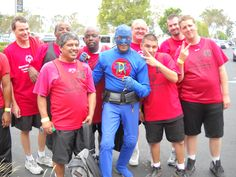DangerMan @ the Special Olympics
