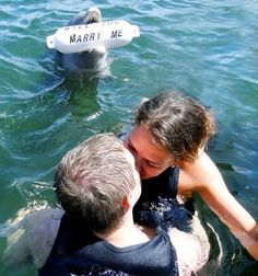 I would seriously die. I love dolphins! this is soo cute lol Haha, Pokerface, The Other Guys, Wedding Proposals, Marriage Proposals, Love Is In The Air, Here Comes The Bride, Marry Me, Cancun