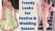 2020 Latest Party Wear Outfit Ideas For Festive & Wedding Season/ Design... Party Wear Indian Dresses, Indian Wedding Outfits, Prom Dresses, Formal Dresses, Wedding Season, Festive, Outfit Ideas, Seasons, Suits
