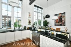 An outstanding 1604 SqFt loft apartment on the first floor of the beautiful Lycee Building - a converted Victorian school building in heart of Kennington. The property offers superb living space and is presented in immaculate order. The are many original features including large timber-frame windows, parquet flooring, double height ceilings and exposed steel beams.