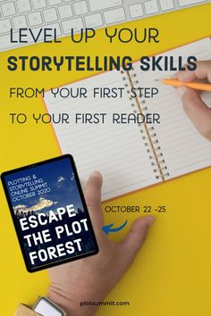 A summit for fiction writers focused on plot.