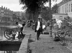 Rotterdam, Coolsingel, c. by Henri Berssenbrugge Rotterdam, Street Photography, Netherlands, Holland, Dutch, Transportation, Street View, Van, Europe