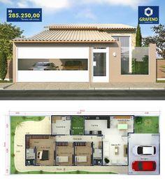 Small House Floor Plans, Dream House Plans, Simple House Design, Modern House Design, Rest House, My House, Kerala House Design, Backyard Pool Designs, Contemporary House Plans