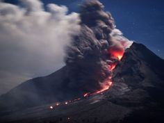 Sinabung, Indonesia (© SUTANTA ADITYA/AFP/Getty Images)