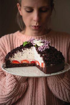 Krtkův dort • CukrFree.cz Kefir, Food And Drink, Low Carb, Gluten Free, Cake, Sweet, Desserts, Recipes, Glutenfree