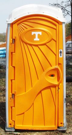 WHEN YOU GOTTA GO, GO BIG ORANGE IN STYLE lol