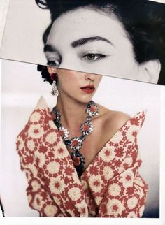 One of my favorite editorials of 2012: Beyond gorgeous……'Lost in Details' Arizona Muse by Paolo Roversi for Vogue Italia