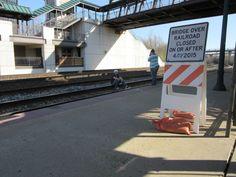 Tresspassing on  CSX tracks in Lafayette