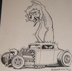 Art by Ed Roth ~ Rat Fink! Description from pinterest.com. I searched for this on bing.com/images