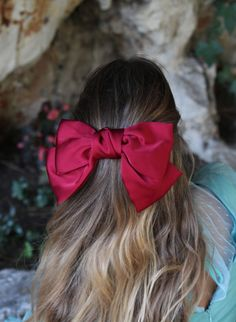 Ponytail Scrunchie, Fabric Flower Headbands, Xmax, Boutique Hair Bows, Aesthetic Hair, Diy Hair Bows, Elegant Hairstyles, Grunge Hair, Scarf Hairstyles