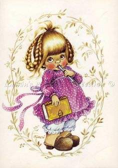 Zsuzsa Fuzesi Holly Hobbie, Cute Illustration, Princess Zelda, Christmas Ornaments, Holiday Decor, Gallery, Drawings, Artist, Fictional Characters
