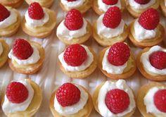 Raspberry custard tart at Happy Simple Living blog