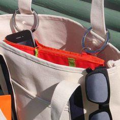pochette de rangement pour sac à main Ibou Pocket et sangle porte-clé Ibou Strap - LAPADD.com