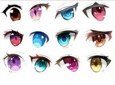 """> huntinganime.com #anime #manga #huntinganime #anime art"""">  Over 3000 anime and manga lovers like our website.Come and see why  >> huntinganime.com #anime #manga #huntinganime #anime art Realistic Eye Drawing, Manga Drawing, Manga Art, Drawing Sketches, Eye Drawings, How To Draw Anime Eyes, How To Draw Hair, Regard Animal, Cartoon Eyes"""