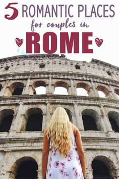 Walking around Rome is romantic in and of itself. The architecture, the people, the food, the wine, the music, the smells…literally everything emanates romance. However, there are certain areas and attractions in Rome that we think raise the romance bar e