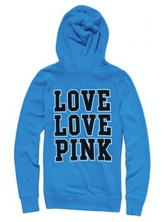 love this funnel neck hoodie from VS!!