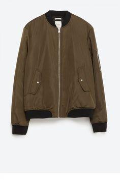 e09e12e9 23 best Zara padded jackets images in 2016 | Bomber jackets, Woman ...