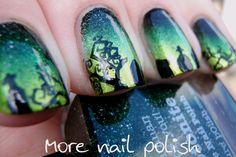 """Graveyard """"This is Halloween Nail Art Challenge"""" ~ More Nail Polish"""