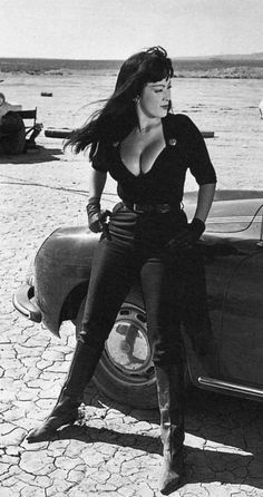 Tura Satana in 'Faster, Pussycat! Kill! Kill!', 1965. Tura was the original ass-kicking sexually dominant woman of American cinema. She was even badass in real life with her love martial arts, cars and burlesque.