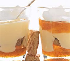 Apricot Parfait | A gorgeous-looking parfait starts with vanilla pudding, either store-bought or―even better―homemade.