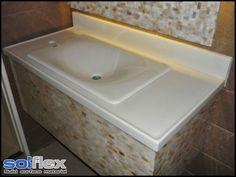 Solflex Solid Surface is an innovation crafted to be durable, practical and functional.