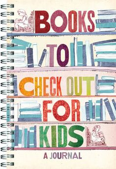 Books to Check Out journal - great for summer reading for the kids
