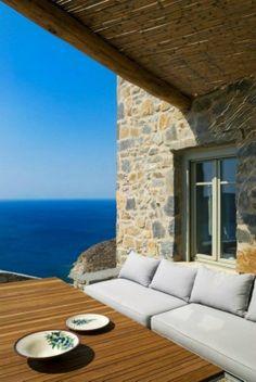 Unique Cliff-Top Home on Serifos Island - Decoholic