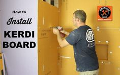 Learn how to install Schluter Kerdi Board like a pro with our tutorial. If you want a waterproof shower surround then you'll you love Kerdi Board