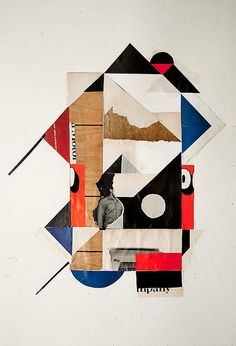 By Jhon Whitlock.  Interesting compositioned collage, simple design.