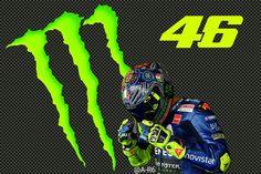 Valentino Rossi Monster #46