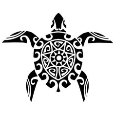 55 Cool turtle tattoo designs, photos and ideas. Do you know the symbolic meaning of turtle tattoos? Check out these tribal, Polynesian, Hawaiian and sea turtle designs. Tribal Turtle Tattoos, Turtle Tattoo Designs, Hawaiian Tribal Tattoos, Elephant Tattoos, Polynesian Tattoos, Filipino Tattoos, Tribal Elephant, Polynesian Tribal, Hawaiianisches Tattoo