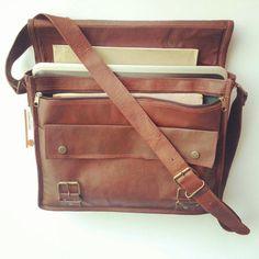 Rugged Leather Messenger Bag Leather Briefcase Office Bag Leather Laptop Bag Women shoulder Bag