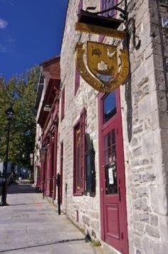 Old Montreal Restaurant, Quebec, Canada