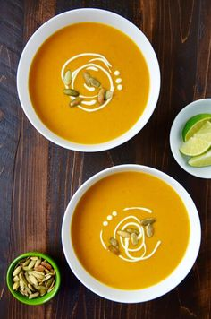 Add a Thai twist to a comforting favorite with a quick and healthy recipe for coconut pumpkin soup loaded with fresh garlic.