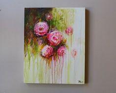 (Merci pour votre visite ! Consultez ma boutique pour plus de peintures originales ici : ****************************************************************************** Bienvenue sur ma boutique : https://www.etsy.com/shop/artbyoak1 https://www.etsy.com/shop/oakartgallery Description de loeuvre Acrylique sur toile -Peinture de fleurs titre : Abstrsct -TAILLE : 30 x24 x 1 pouces d 5 -MOYEN:... Acrylique de qualité professionnelle sur toile 100 % coton ...