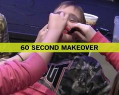60 Second Makeover - Fun Ninja Youth Group Games | Fun Ninja Youth Group Games