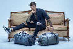 Got plans? Our Sheldon Weekend bag and Maddox grey and black leather bag. Black Leather Bags, Black And Grey, Design, Fashion, Moda, Fasion, Design Comics, Trendy Fashion