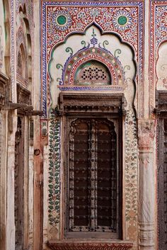 Mughal Architecture, Amazing Architecture, Art And Architecture, Vernacular Architecture, Ancient Architecture, Cool Doors, Unique Doors, Indian Doors, Incredible India