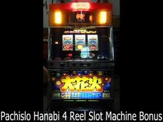 Pachislo Hanabi 4 Reel Slot Machine Bonus