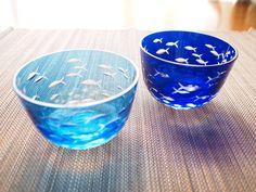 切子 ガラス 冷茶 「ぎょぐん」
