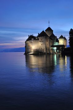 Chateau Chillon in Switzerland
